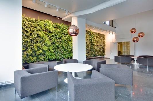 Fin lounge/konferensyta finns i fastigheten