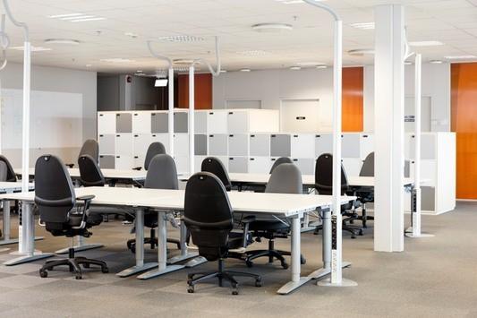 Arbetsplatser i öppen miljö