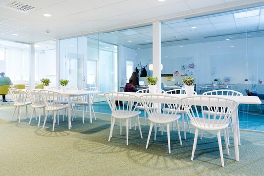 MHC Workspace är inrett i modern skandinavisk stil