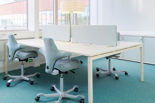 Välj eget rum eller arbetsplats i öppet landskap