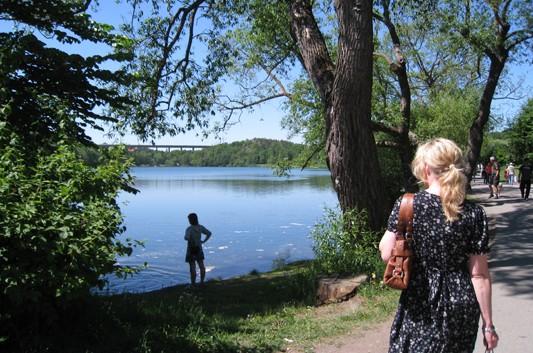 Sjön Trekanten