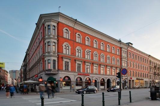 Hörnet Södra Förstadsgatan/Regementsgatan