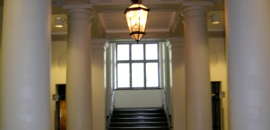 Interiörbild på hallen